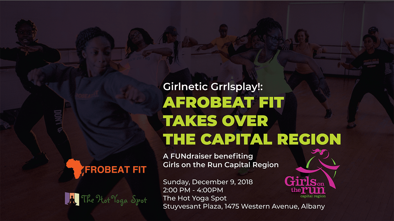 Girlnetic Grrlsplay Afrobeat Fit Takes Over the Capital Region