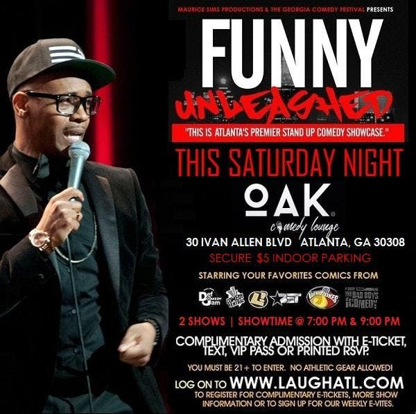 Funny Unleashed at Oak Comedy Lounge