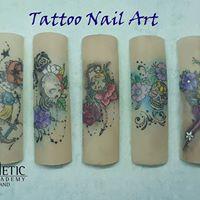 Easy Tattoo Nail Art
