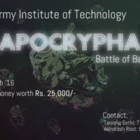 Apocrypha-Battle of Bands