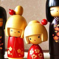 Spring Sekku Kokeshi &amp Koto Culture