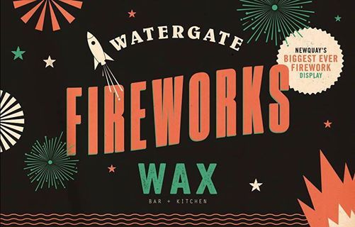 Watergate Bay 2018 Fireworks