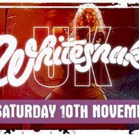 Whitesnake UK - Saturday 10th November