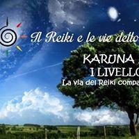 Torino Reiki Karuna KI I livello