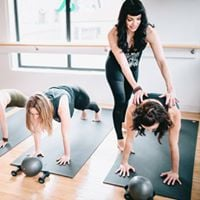 Wayland Square Pop-Up Barre Class at NBX Bikes of Providence
