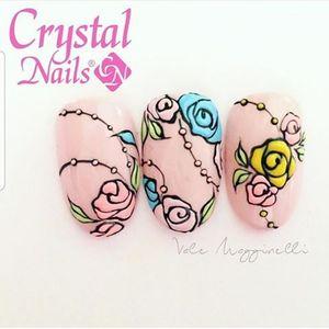 Crystal Nails - SALON BASIC NAIL ART course