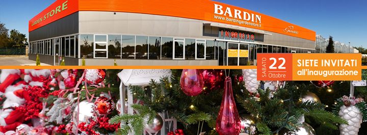 Inaugurazione Bardin Garden Store E Paese Del Natale At Bardin