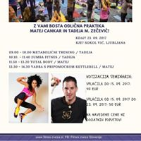 Seminar skupinske fitnes vadbe