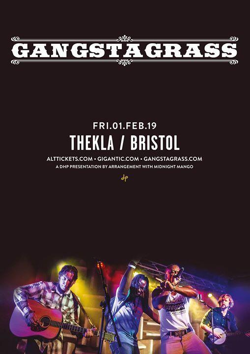Gangstagrass - Thekla - 01.02.19