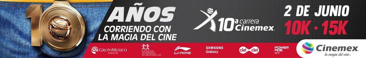Cinemex 10k y 15K