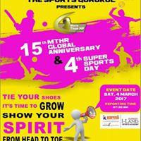 4th Super Sports Day cum 15th Anniversary of MTHR Global