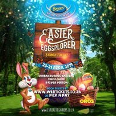 Beacon Easter Eggsplorer Egg Hunt at Durban Botanic Gardens