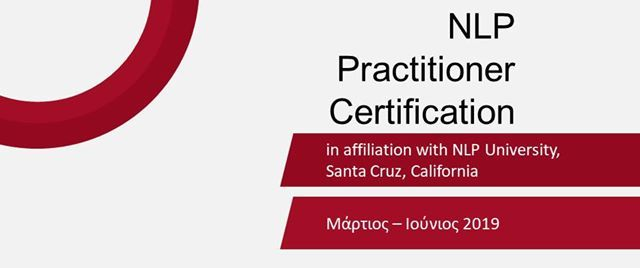 NLP Practitioner Certification   - 2019
