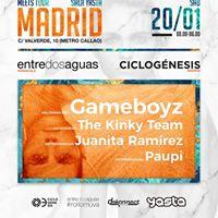 Meets Tour &quotEntre Dos Aguas Vs Ciclognesis&quot Madrid