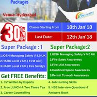 IOSH MS V 5.0 UK with Bundles of HSE Courses in Hyderabad