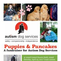 Puppies &amp Pancakes  a Fundraiser for Autism Dog Services