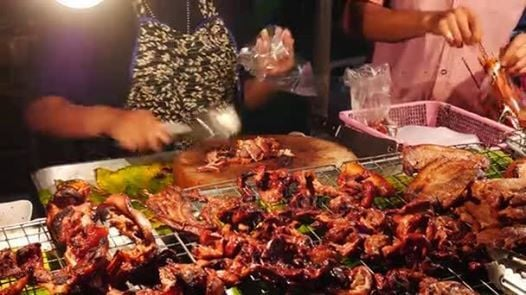 Thai Buffet and BBq Party