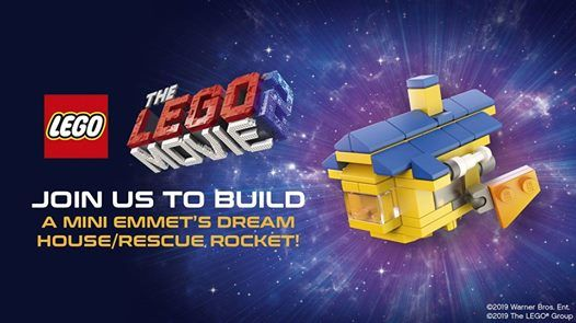 Lego Make & Take Event