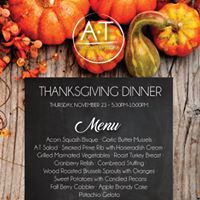 Thanksgiving Dinner in AT
