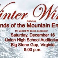 Winds of the Mountain Empire Winter Concert 2017