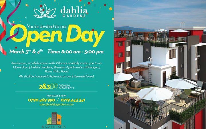 Dhalia Gardens OPEN DAY