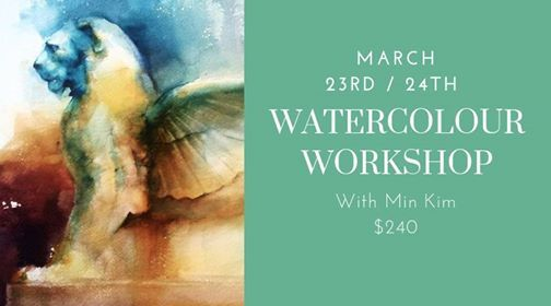 Watercolour Workshop with Min Kim