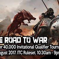 Warhammer 40000 - Road to War Invitational Qualifier (August)
