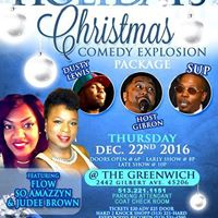Home for the Holidays Christmas Comedy Explosion