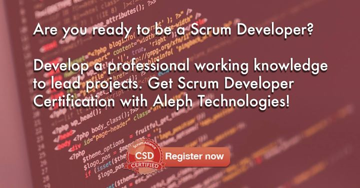 Certified Scrum Developer Workshop (CSD)
