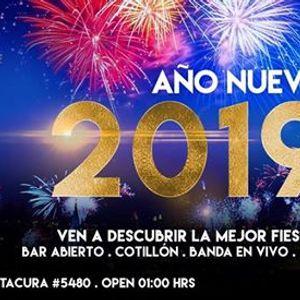 Ao Nuevo 2019 en Club EVE
