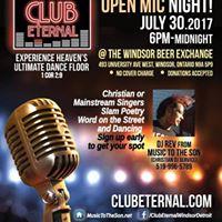 Club Eternal OPEN MIC Night