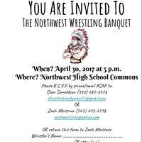Northwest High School Wrestling Banquet