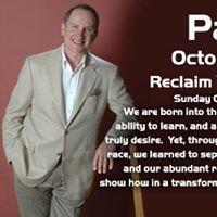 Paul Scheele Reclaim Your Abundance TalkWorkshop