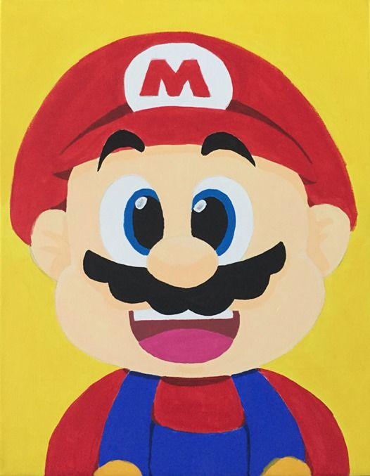 Painting Time Nintendo Night