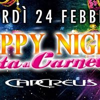 Venerd 24 febbraio HAPPY Nights di Carnevale al CAP Creus