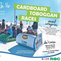 Annual Cardboard Toboggan Races