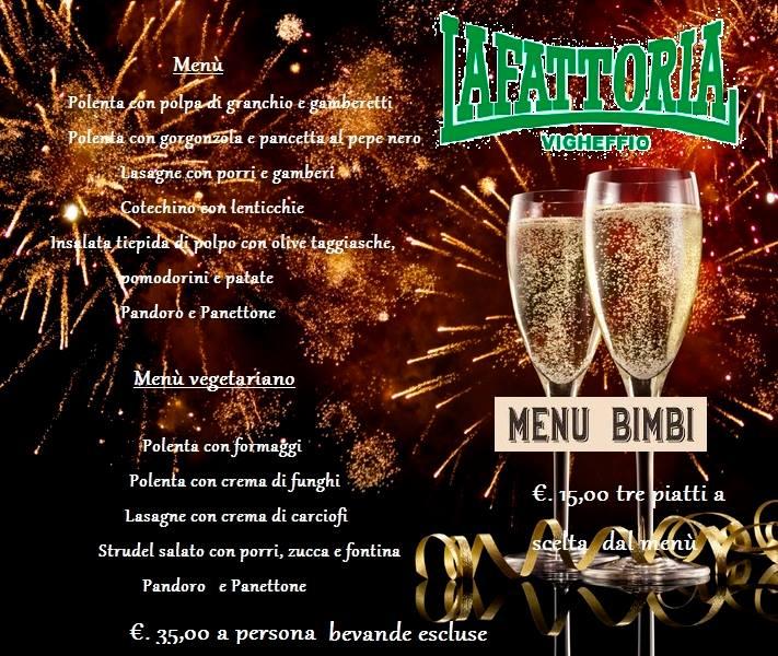 Grande Cenone Di Capodanno 2015 At La Fattoria Di Vigheffio