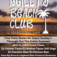 Reillys Beach Party Free Patio Bash