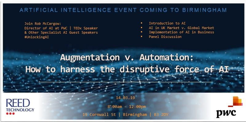 Augmentation v. Automation  How to harness the disruptive force of AI