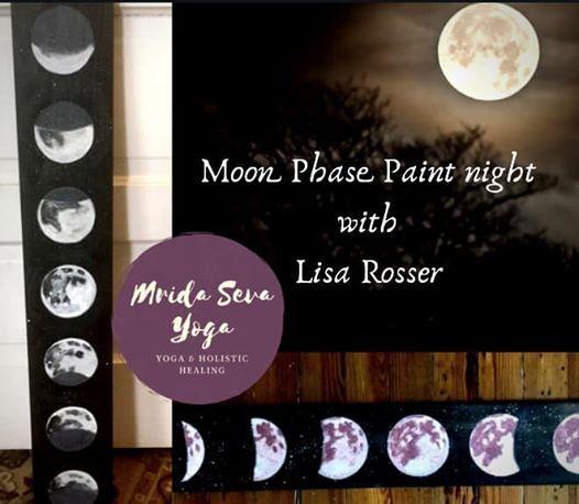 Moon Phase Paint night