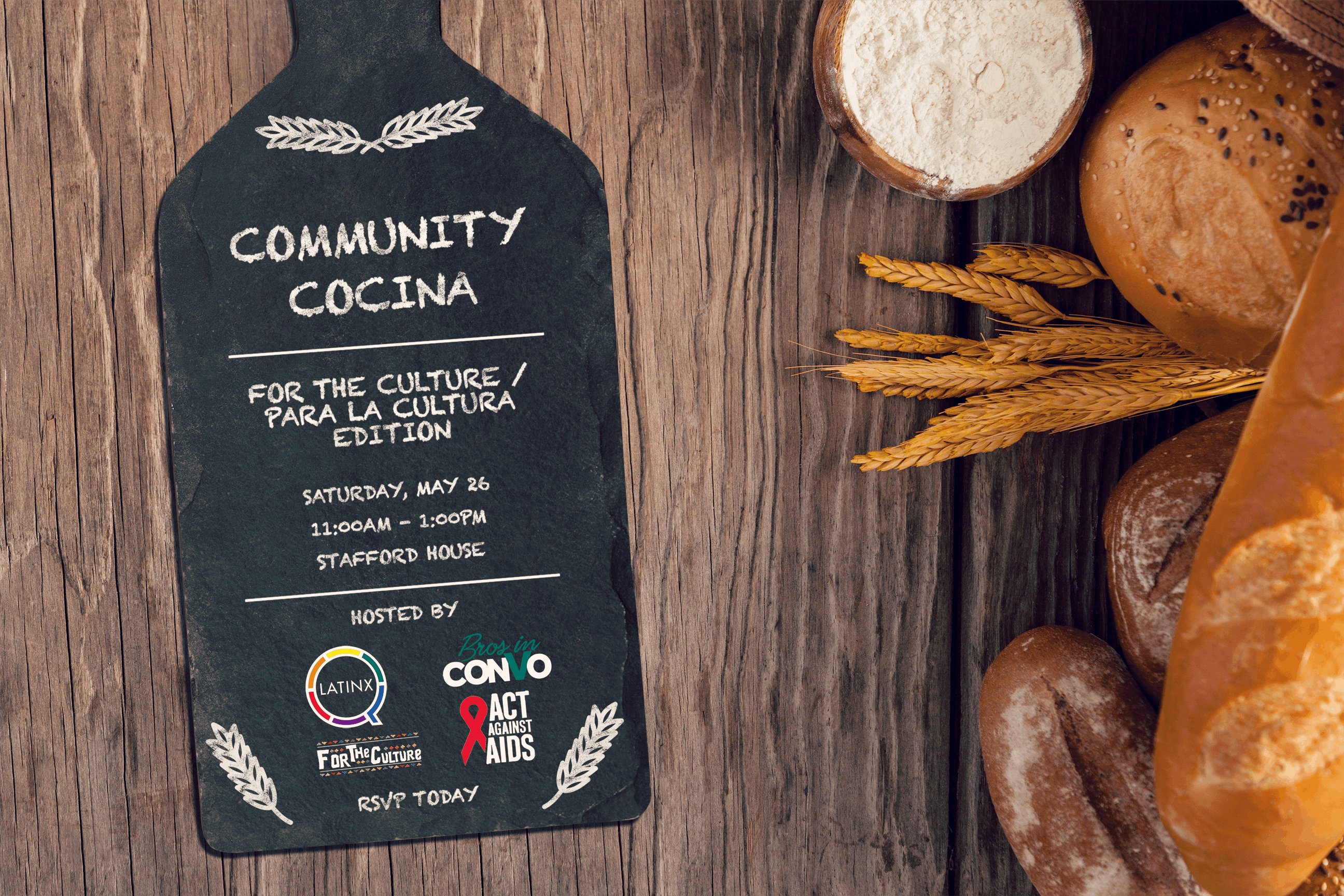 Community Cocina For the Culture  Para la Cultura Edition