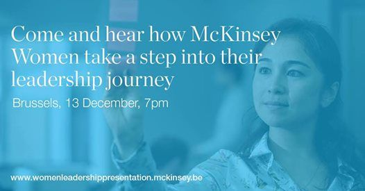 McKinsey Women Leadership conference