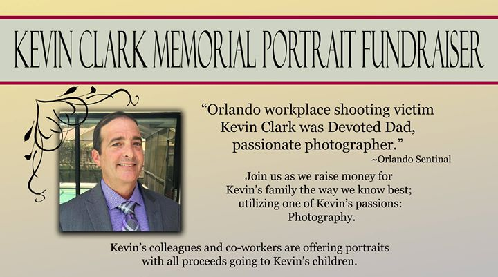 kevin clark memorial portrait fundraiser at meadow woods gym