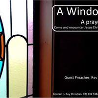 A Window of Gods Grace A Prayer and Healing Service
