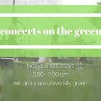 Concerts on the Green Rachel Hanson Them Coulee Boys