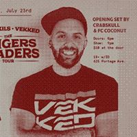 Fresh Kils x Vekkeds Fingers &amp Faders Tour at The Good Will