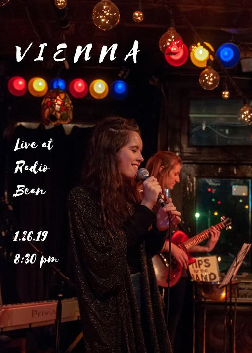 Vienna Live at Radio Bean on Saturday January 26th at 830 PM