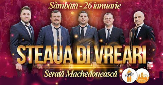 Serat Machedoneasc Steaua di Vreari  26 ianuarie