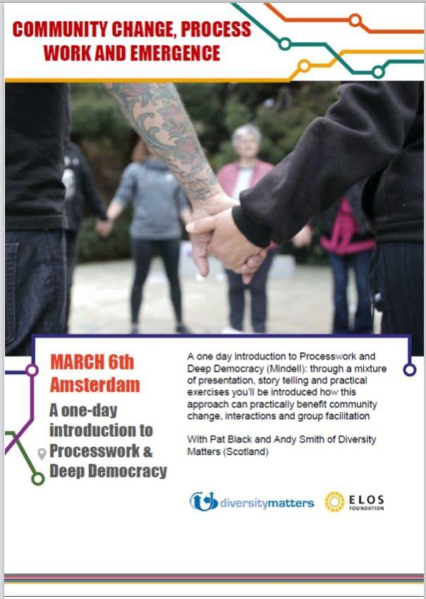 ProcessWork & Deep Democracy 1-day introduction (Community Change Deep Democracy and Emergence)