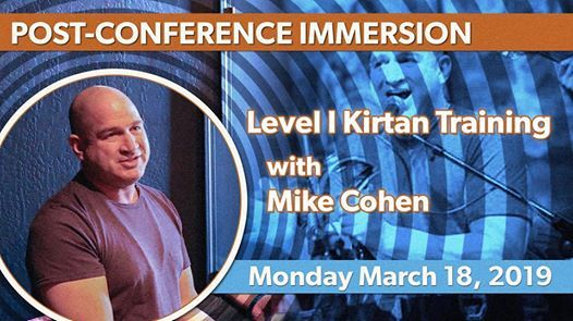 Level I Kirtan Training with Mike Cohen
